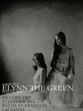 Affiche concert avec Elynn the Green